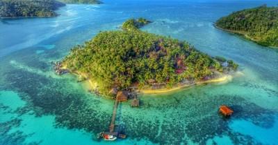 Pulau Piugus, Liburan Asik di Pulau Eksklusif Dengan Tarif Terjangkau