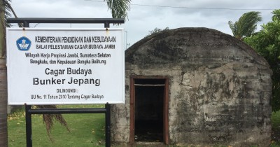 Bunker Jepang, Napak Tilas Peninggalan Jepang di Bengkulu