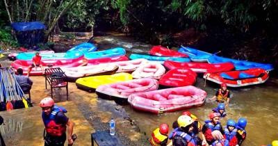 Kampoeng Air Katulampa, Sensasi Mini Adventure di Sudut Bogor