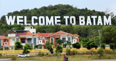 Bukit Welcome to Batam, Landmark Ala Hollywood di Bukit Clara Batam