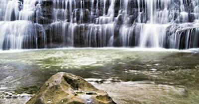 Air Terjun Langan Bungin, Nikmati Sensasi Lompat Dari Air Terjun Bengkulu