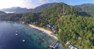 Pantai Iboih, Surga Bawah Laut di Sabang