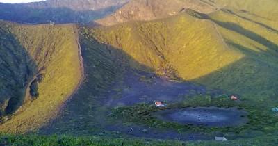 Bukit Kaba, Panorama Keindahan Kawah di Puncak Bukit