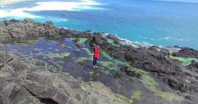 Pantai Ombak Tujuh, Keindahan Pantai Yang Eksotis di Sukabumi