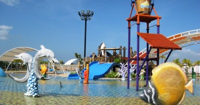 Waterpark Ocarina, Wisata Untuk Putra-Putri Anda