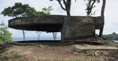Benteng Anoi Itam, Lokasi Gudang Senjata Armada Jepang Pada Perang Dunia II