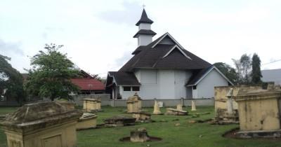 British Cemetery Kompleks Makam Inggris Di Bengkulu