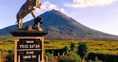 Gunung Kerinci, Pesona Gunung Berapi Tertinggi di Indonesia