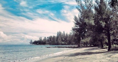 Pantai Ganting, Keelokan Pantai dengan Pasir Eksotis di Pulau Simeulue