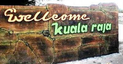 Pantai Kuala Raja, Pantai Berpasir Coklat nan Eksotis