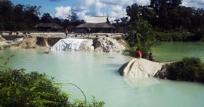 Danau Biru Muara Tembesi, Fenomena Sebuah Danau Cantik di Batanghari