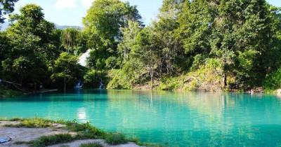 Air Terjun Kolam Biru Rerebe, Perpaduan Air Terjun dan Kolam Biru nan Cantik
