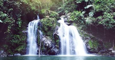 Air Terjun Terujak, Keindahan Air Terjun Alami di Tengah Hutan Belantara