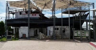 Kapal Lampulo, Sebuah Situs Sejarah Kapal di Atas Rumah