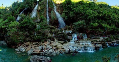 Air Terjun Sri Gethuk, Air Terjun Cantik di Balik Tebing