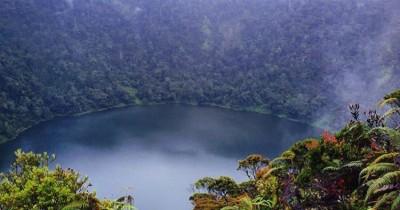 Danau Kumbang, Danau Eksotis di Puncak Gunung Masurai