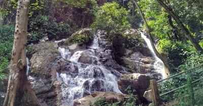 Air Terjun Telun Perentak, Keindahan Air Terjun Berundak di Kabupaten Merangin