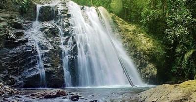Air Terjun Telalang Jaya, Pesona Air Terjun Tujuh Tingkat dengan Kolam Alami