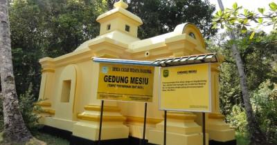 Gedung Mesiu, Bangunan Peninggalan Kejayaan Kerajaan Riau
