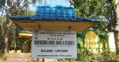Berwisata ke Makam Temenggung Abdul Jamal Mengulas Peninggalan Kesultanan Riau