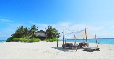 Pulau Pangkil, Menikmati Keindahan Alam Pantai dengan Ombak yang Indah