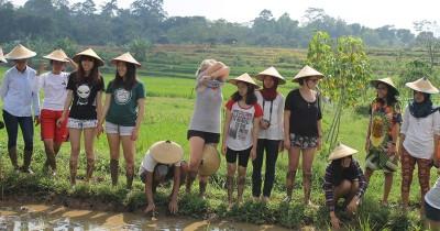Kampung Wisata Ponglang , Keindahan Sebuah dewa dengan Bekas Tambang yang eksotis