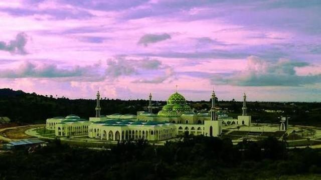 Masjid Agung Natuna Destinasi Utama Wisatawan Muslim Di Kepulauan Riau Tempat Me