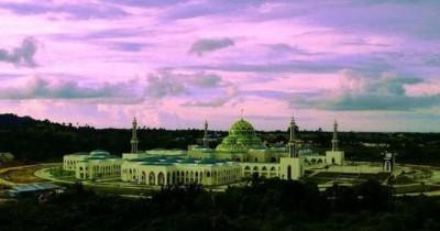 Masjid Agung Natuna Destinasi Utama Wisatawan Muslim di Kepulauan Riau