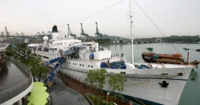 Kapal Legendaris MV Doulos Phos, Menikmati Resort Mewah di Atas Kapal Bersejarah