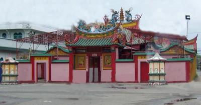 Vihara Dharma Dwiepa, Keunikan Vihara dengan Interior Gaya Tionghoa