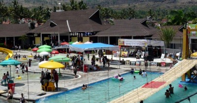 Sabda Alam Cipanas, Taman Air Kaya Wahana di Garut