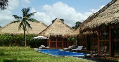 Sapu Lidi Resort, Penginapan Keluarga Bernuansa Tradisional