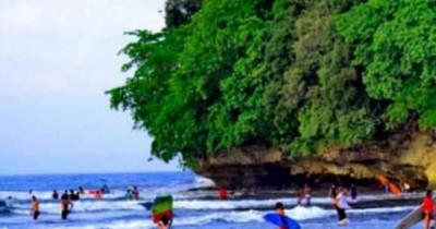 Pantai Lembah Putri, Pantai Menawan di Pangandaran