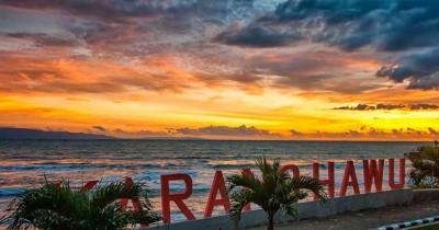 Pantai Karang Hawu, Pantai Pesisir Selatan Dengan Cerita Nyi Roro Kidul