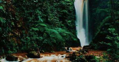Curug Sadim, Menikmati Keindahan Air Terjun di Hamparan Kebun Teh