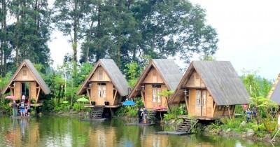 Dusun Bambu Family Leisure Park, Pesona Wisata Kuliner Dengan Latar Unik