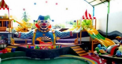 Sirkus Waterplay, Wahana Air dengan Tema Sirkus