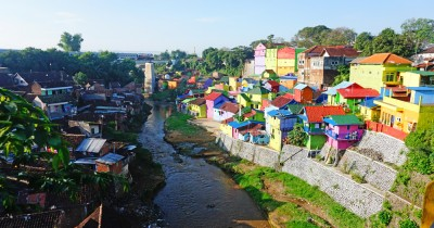 Kampung Jodipan, Berwisata Sambil Menyaksikan Indahnya Rumah Berwarna-Warni
