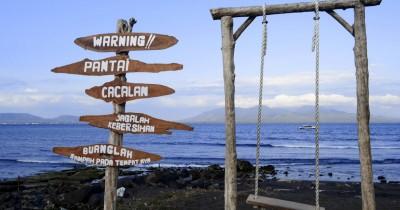 Pantai Cacalan, Menikmati Pesona Indahnya Selat Bali