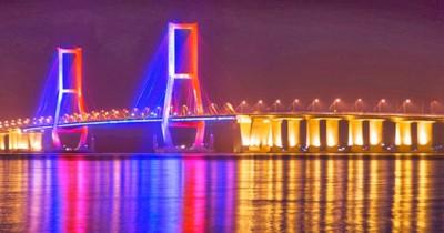 Jembatan Suramadu, Menikmati Indahnya Pemandangan Selat Madura
