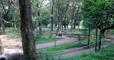Taman Ria Maospati, Bersantai di Tengah Indahnya Taman Kota