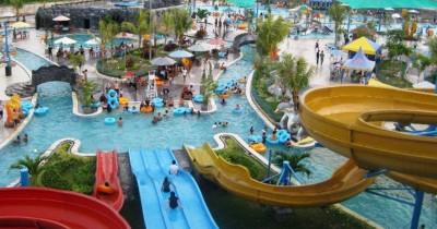Hairos Waterpark, Rasakan Keseruan Bermain Air di Waterpark Terbesar Milik Kota Medan