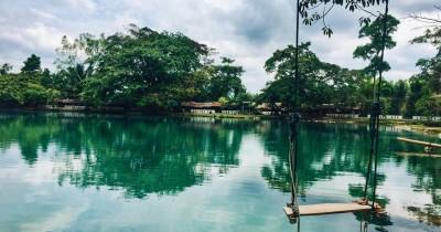 Danau Linting, Menikmati Keindahan Danau Air Panas yang Jarang Ditemui di Indonesia