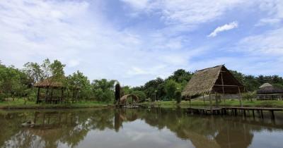 Kampung Ladang, Wisata Alam nan Indah dengan Keseruan Wahana Outbond