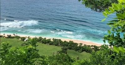 Pantai Nyang Nyang : Tiket Harga Masuk, Foto dan Lokasi