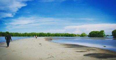 Pantai Muara Beting : Tiket Harga Masuk, Foto dan Lokasi