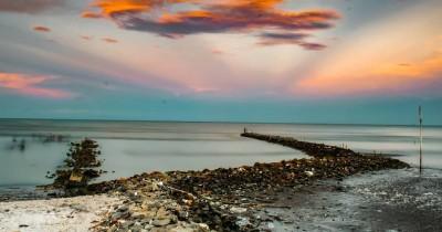 Pantai Samudera Baru : Tiket Harga Masuk, Foto dan Lokasi