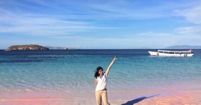 Pantai Pink : Tiket Harga Masuk, Foto dan Lokasi
